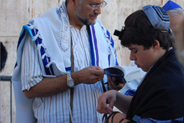 Bar Mitzvah in Israel